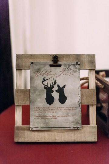 Magical Modern Harry Potter Inspired Wedding – Ashlyn Savannah Photo 30