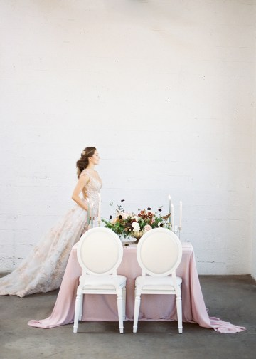 Mauve Fig Wedding Inspiration with a Gorgeous Ballgown Wedding Dress – Maricle King 11