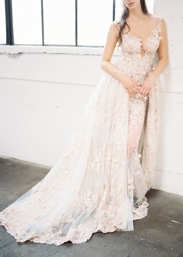 Mauve Fig Wedding Inspiration with a Gorgeous Ballgown Wedding Dress – Maricle King 12