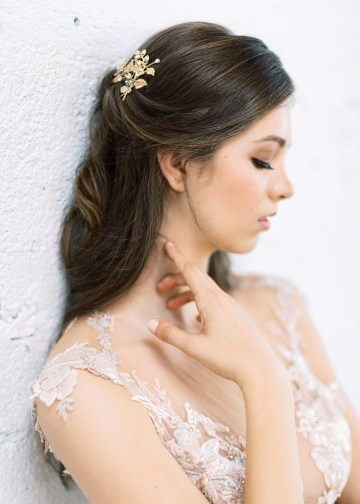 Mauve Fig Wedding Inspiration with a Gorgeous Ballgown Wedding Dress – Maricle King 15