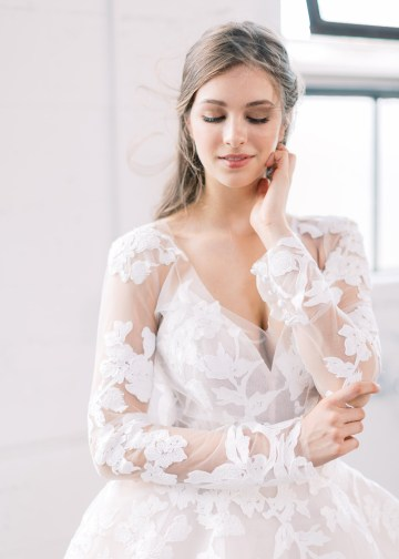 Mauve Fig Wedding Inspiration with a Gorgeous Ballgown Wedding Dress – Maricle King 22