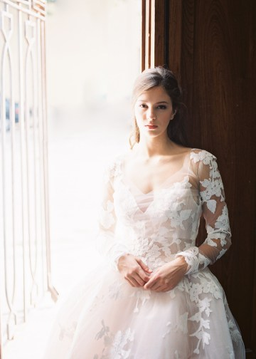 Mauve Fig Wedding Inspiration with a Gorgeous Ballgown Wedding Dress – Maricle King 26