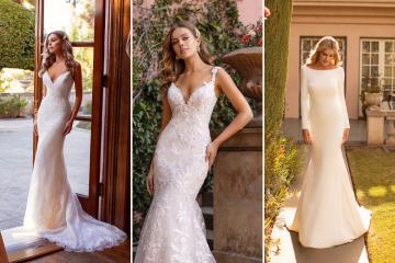10 Gorgeous Wedding Dresses that Flatter Your Curves – Moonlight Bridal – Val Stefani – Bridal Musings