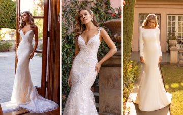 10 Gorgeous Wedding Dresses That Flatter Your Curves