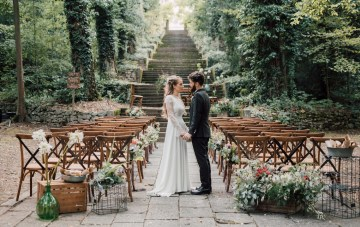 An Enchanted Italian Wedding With Woodland Fairytale Vibes