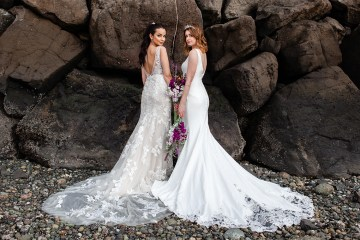 Maggie Sottero Pacific Northwest Beach Wedding Inspiration – Claire Eliza – Bridal Musings 63