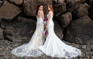 Ocean-Inspired Wedding Ideas Featuring Stunning Maggie Sottero Dresses