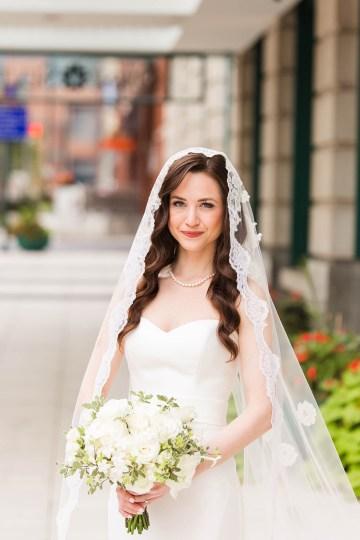 Ornate Jewish Ballroom Wedding with the Brides Grandmothers Wedding Dress – Danielle Harris Photography 16