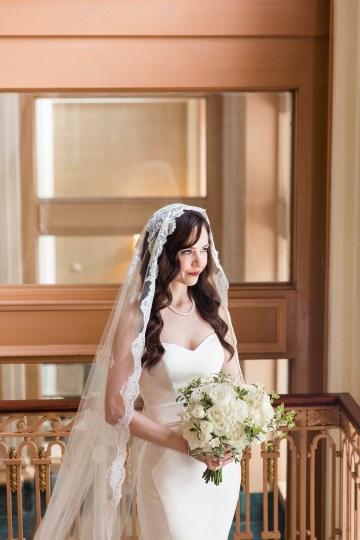 Ornate Jewish Ballroom Wedding with the Brides Grandmothers Wedding Dress – Danielle Harris Photography 27