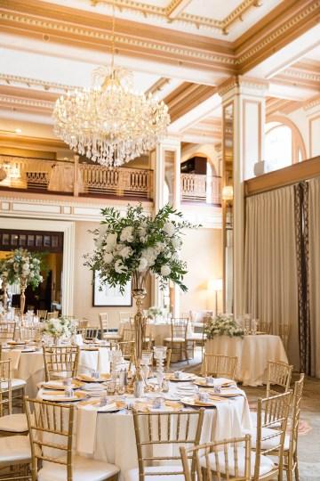 Ornate Jewish Ballroom Wedding with the Brides Grandmothers Wedding Dress – Danielle Harris Photography 38
