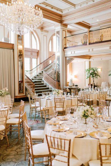 Ornate Jewish Ballroom Wedding with the Brides Grandmothers Wedding Dress – Danielle Harris Photography 47