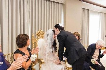 Ornate Jewish Ballroom Wedding with the Brides Grandmothers Wedding Dress – Danielle Harris Photography 5