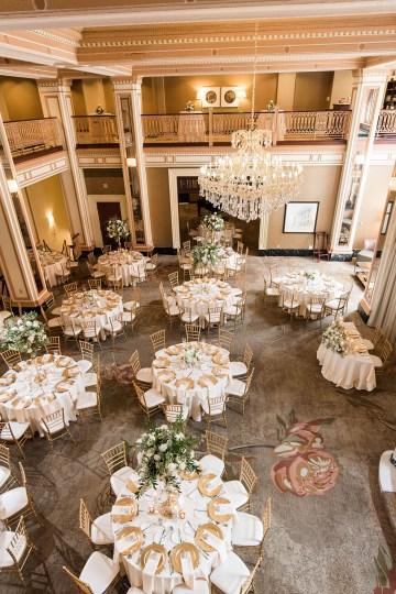 Ornate Jewish Ballroom Wedding with the Brides Grandmothers Wedding Dress – Danielle Harris Photography 54