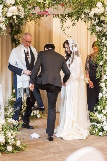 Ornate Jewish Ballroom Wedding with the Brides Grandmothers Wedding Dress – Danielle Harris Photography 65