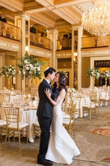 Ornate Jewish Ballroom Wedding with the Brides Grandmothers Wedding Dress – Danielle Harris Photography 70
