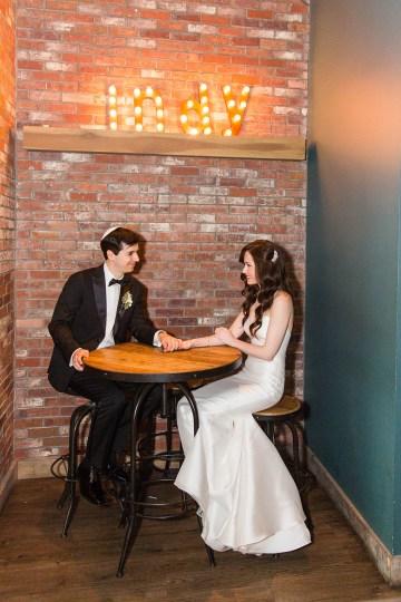 Ornate Jewish Ballroom Wedding with the Brides Grandmothers Wedding Dress – Danielle Harris Photography 73