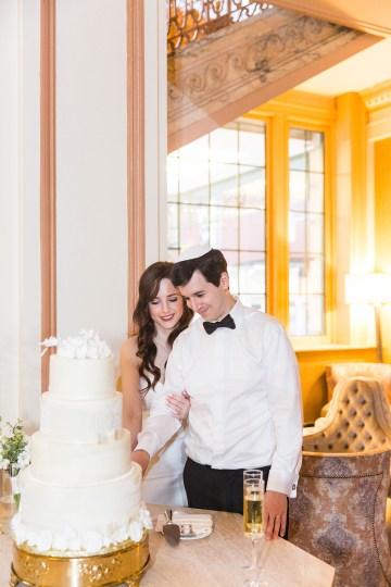 Ornate Jewish Ballroom Wedding with the Brides Grandmothers Wedding Dress – Danielle Harris Photography 77