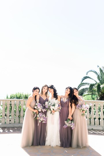 Lush Lavender Bel Air LA Wedding – Hanh Nguyen 13