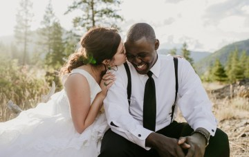 Congolese American Forest Lodge Wedding