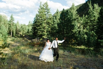 Whimsical Forest Lodge Congolese American Wedding – Honeybee Weddings 3