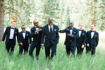 Whimsical Forest Lodge Congolese American Wedding – Honeybee Weddings 8