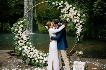 Breathtaking Bali Waterfall Elopement – Vladimir Borodenok 3