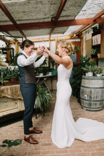 Eclectic San Diego Garden Wedding – Barrels and Branches – Lets Frolic Together 11