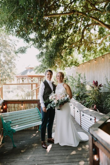 Eclectic San Diego Garden Wedding – Barrels and Branches – Lets Frolic Together 14