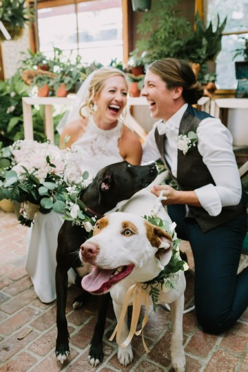 Eclectic San Diego Garden Wedding – Barrels and Branches – Lets Frolic Together 22