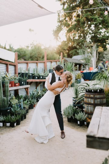 Eclectic San Diego Garden Wedding – Barrels and Branches – Lets Frolic Together 32