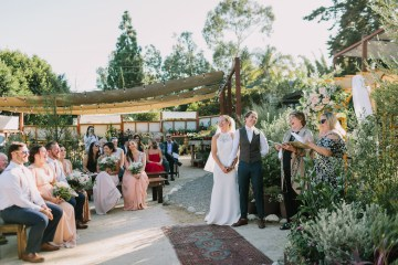 Eclectic San Diego Garden Wedding – Barrels and Branches – Lets Frolic Together 44