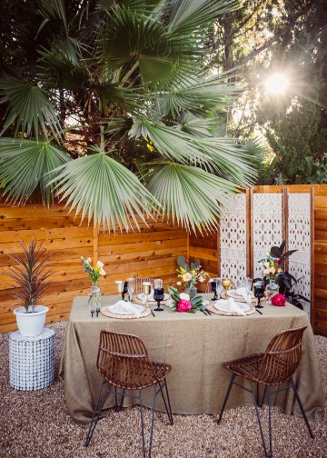 How to Decorate A Tropical Wedding for Your Home or Backyard – Light and Space – Bright Bird Photography 37