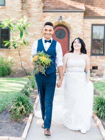 Intimate Summer Cottage Wedding – Rachel Ann Media 14