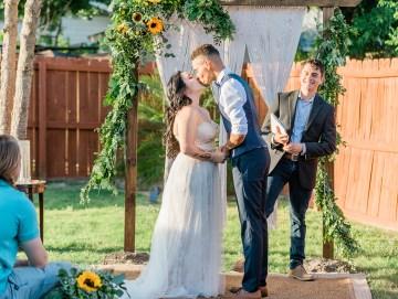 Intimate Summer Cottage Wedding – Rachel Ann Media 34