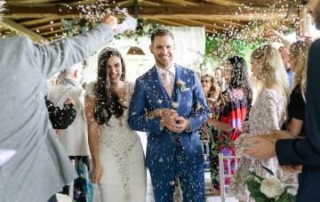 Rainy & Romantic Tuscan Destination Wedding