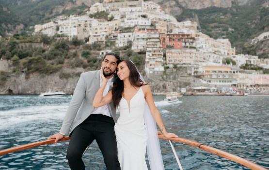 Incredibly Romantic & Private Positano Elopement