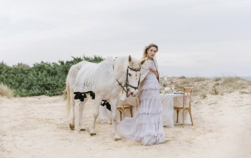 Romantic Ruffles; Beach Wedding Inspiration From Puglia