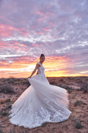 Wedding Postponement Guide – Gorgeous Allure Bridals Wedding Dresses for Your Bridal Photoshoot – 3365-AD12