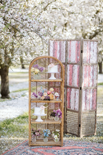 Whimsical Almond Orchard Blossom Wedding Inspiration – Playful Soul Photography 8