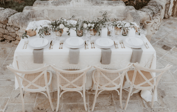 High-fashion Destination Wedding Inspiration From Puglia, Italy
