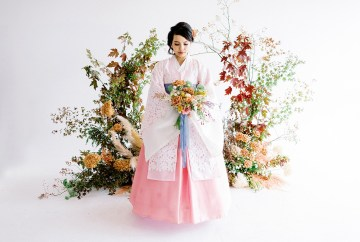 Modern Korean Wedding Inspiration – lilelements – Anadena Photography 1