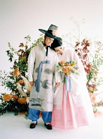 Modern Korean Wedding Inspiration – lilelements – Anadena Photography 29
