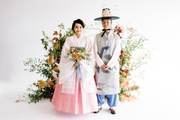 Modern Korean Wedding Inspiration – lilelements – Anadena Photography 3