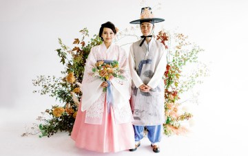 Gorgeous Modern Korean Wedding Inspiration For Every Season