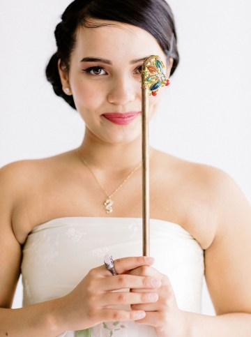 Modern Korean Wedding Inspiration – lilelements – Anadena Photography 49