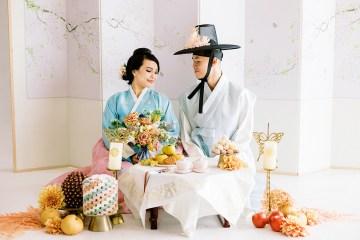 Modern Korean Wedding Inspiration – lilelements – Anadena Photography 5
