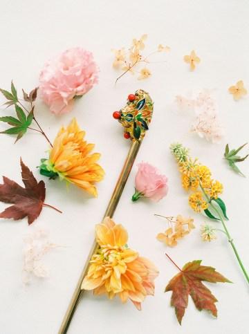 Modern Korean Wedding Inspiration – lilelements – Anadena Photography 66