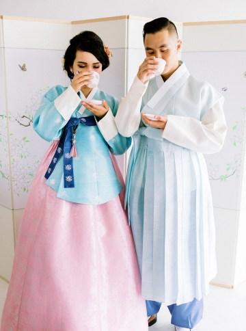 Modern Korean Wedding Inspiration – lilelements – Anadena Photography 82