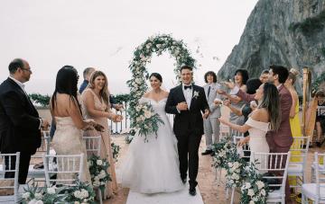 An Intimate Amalfi Coast Wedding Fit For Royalty