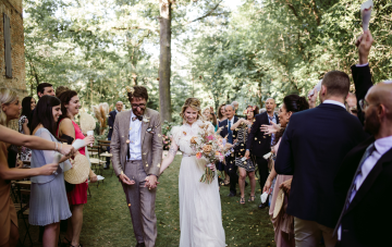 Italian Wildflower Wedding At Castello Di Paderna